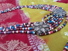 Hey, I found this really awesome Etsy listing at https://www.etsy.com/listing/187400035/afghan-vintage-ethnic-necklace-and