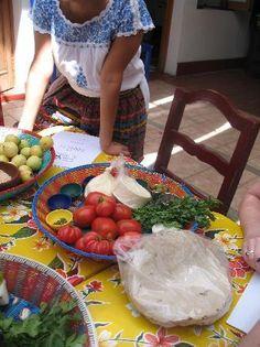 Casa de los Sabores Cooking Class #Oaxaca
