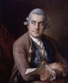 Titam et le beau siècle — Portrait of Johann Christian Bach (1735-1782),...