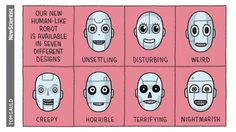 For New Scientist #tomgauld #science #robot #cartoon... #YOU_RE_ALL_JUST_JEALOUS_OF_MY_JETPACK #Tom_Gauld #Arsetculture