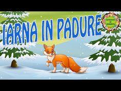 """""""Iarna în pădure"""" - poezie   Poezii de iarnă pentru copii - YouTube Grinch, Youtube, Dark Around Eyes, Youtubers, Youtube Movies"""
