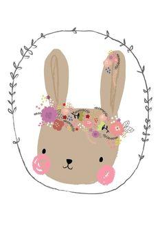 Aless Baylis | Ansichtkaart Bunny