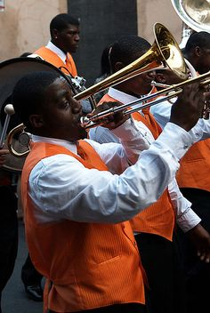 'Musician in New Orleans', photo taken in The French Quarter, 2011