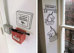 QuinkyArt: Scrawls on walls