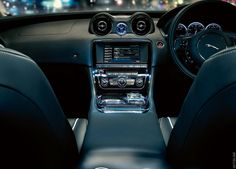 Pretty nice place to be whilst driving.  2010 Jaguar XJ