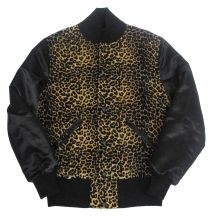 B-side Womens Cheetah Custom Varsity Jacket  £195.00