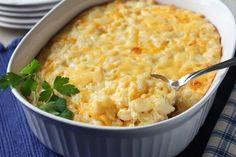 Patti Labelle's Macaroni and Cheese. Photo by Delicious as it Looks