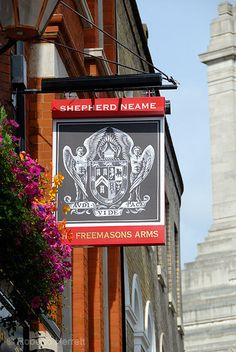 The Freemasons Arms public house in Covent Garden, London, England | From Roberto Herrett