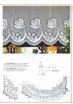 Gallery.ru / Фото #9 - Cortines de crochet - miroslava388