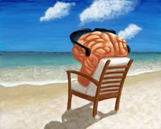 my brain on vacation