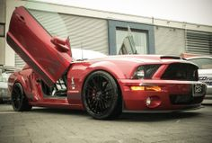"""Teamrider Werner Hirsch's Mustang Shelby GT on customized Dotz Fast Fifteen 20"""" was one of the shooting stars at the german Need for Speed movie premiere this weekend."""