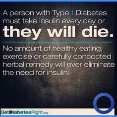 Get diabetes right!