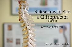 Here are 5 great reasons to see a chiropractor...and they have nothing to do with back pain!