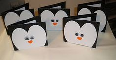 Penguin cards plus so many other cute craft ideas