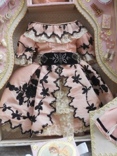 ~~~ Superb French Poupee Costume Presentation in Box ~~~ from whendreamscometrue on Ruby Lane $1,680.00