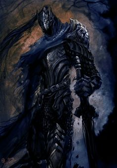 If you want to see the hourly progress shots I posted them here Some fan art of Artorias the Abysswalker from Dark souls. I cant rave enough about the pitch perfect design direction of darksouls, but I also. Arte Dark Souls, Dark Souls 3, Knight Art, Dark Knight, Dark Fantasy Art, Dark Art, Dark Souls Artorias, Soul Saga, Bloodborne Art