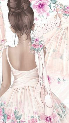 Super wedding pictures must have first dance beautiful Ideas Super wedding pictures must have first dance beautiful Ideas Ballerina Art, Ballet Art, Ballet Wallpaper, Girl Wallpaper, Ballet Drawings, Ballet Painting, Dance Photography, Cute Drawings, Cute Wallpapers