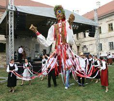 August 2010 Bontida Hungarian folk festival, Cluj, Romania