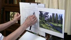 Quick Tip 13 - Preliminary Drawings for Landscapes