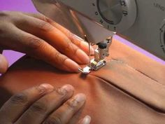 Sewing a Zipper Fly Front - lapped zipper