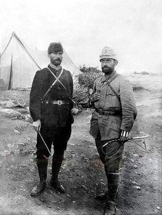 Atatürk'ün Trablusgarp'tan Silah Arkadaşı Ethem Şevki Kepenek Anlatıyor   MustafaKemâlim