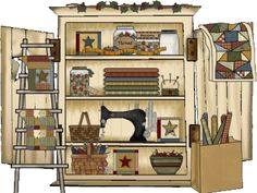 country cupboard