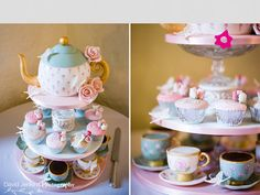 torre cupcake Alice no país das maravilhas buli