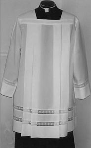 Have you always wondered what those outfits are called that the Roman Catholics wear? Its called the Cassock and Surplice!