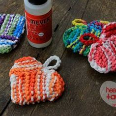 Heart Tawashi Knitting Pattern from Simply Notable!