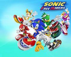 Sonic Free Riders Wallpaper by CrematorWii on DeviantArt Sonic Free Riders, Cloverfield 2, Sonic The Hedgehog, Cartoons, Universe, Deviantart, Live, Wallpaper, Friends