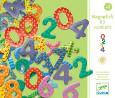 Help your child develop their number literacy with this 38-piece magnetic, number set. Stick the letters to your fridge and your child can have fun while developing their counting and maths skills.