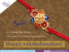 Happy Raksha Bandhan!  #Rakhi #RakshaBandhan #Brother #Sister #Festival