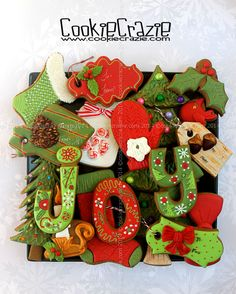 CookieCrazie: JOY-ful Christmas Cookie Collection