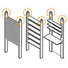 PILLAR BRACKET | Metal Products,Other equipment | | P.F.S. Online Shop