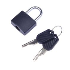 Regard Natral 3 Chiffres Combinaison Padlock Bagages Case Code de Verrouillage Secure Password M/étal Unlock