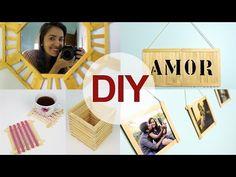 DIY: 5 Ideias com palito de picolé | Namorada Criativa - Por Chaiene Morais