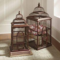 I LOVE Birdhouses ~ so many ways to decorate them