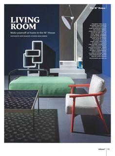 FRAGMENT coffee table, design Nendo | GLAS ITALIA 2017 collection | WALLPAPER* UK july 2017 issue | style #mariasobrino ph #BeppeBrancato #glasitalia #nendo www.glasitalia.com