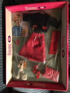 IDEAL TAMMY DOLL CLOTHES SET #9114-0 WALKING HER PET NRFB #Ideal
