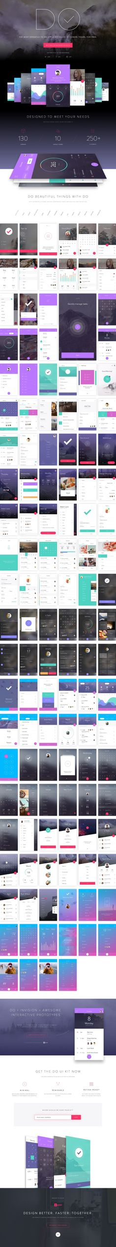 Loves Data Loves || Get DO UI Kit for Photoshop & Sketch by Anton Aheichanka | #UI #userinterface #app