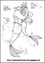 """Picture """"Ariel"""" The Little Mermaid Coloring Pages for Kids / Free Printable Coloring Pages for Kids - Coloring Books Ariel Coloring Pages, Disney Princess Coloring Pages, Disney Princess Colors, Disney Colors, Cool Coloring Pages, Cartoon Coloring Pages, Coloring Pages To Print, Printable Coloring Pages, Coloring Pages For Kids"""