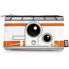 Star Wars The Force Awakens BB-8 Coin/Cosmetic Bag found on Polyvore featuring beauty products, beauty accessories, bags & cases, cosmetic bag, travel kit, makeup purse, travel toiletry case and toiletry kits
