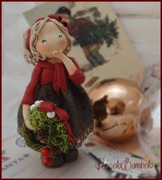 PiccoleBambole: Christmas - Cold porcelain