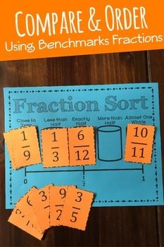 This Fraction Sort Game will build reasoning and estimation skill for students as they learn to compare and order fractions. Each student is given a game mat and a deck of 10 fraction cards. Students sort the fractions into one of five buckets: Close to Zero, Less than Half, Exactly Half, More than Half, and Almost One Whole. By sorting fractions in this way, students will be able to develop their own strategies for judging the size of a fraction.