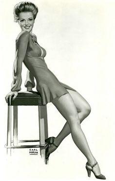 "Earl Moran - ""Something for the Boys"" - Vivian Blaine 1944"