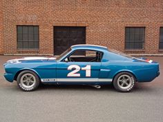Shelby GT350H SCCA B-Production Race Car '1966
