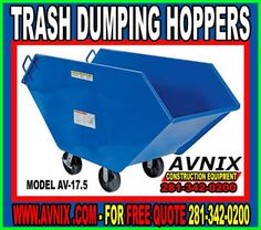 You Are Buying One Jesco Self Dumping Hopper Various Sizes