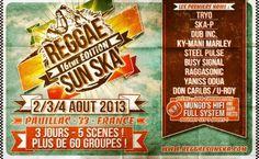 Tout ce qui se passe près de chez moi : 16ème édition Reggae Sun Ska, Pauillac, Aquitaine