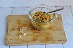 Cómo preparar en pocos minutos un sensacional platos de pasta integral con calabacín