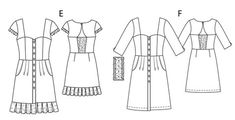 BurdaEasy Button Up Dresses FS/2014 #2E, F2f_dress_image_large